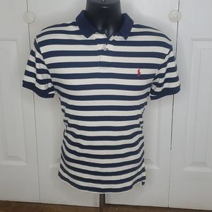 POLO By RALPH LAUREN Blue Polo Shirt Size M